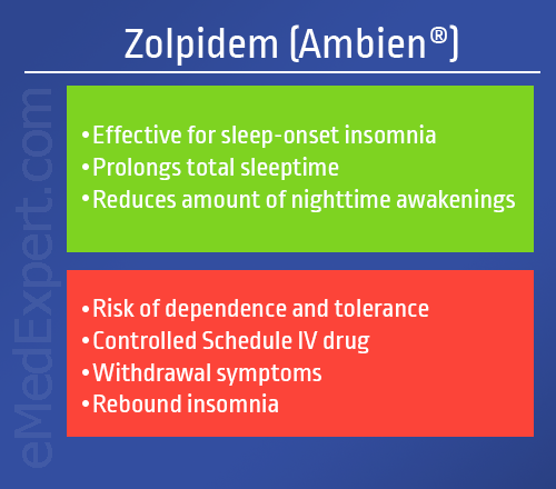 zolpidem for insomnia