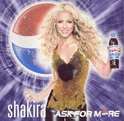 Pepsi commercial with Shakira